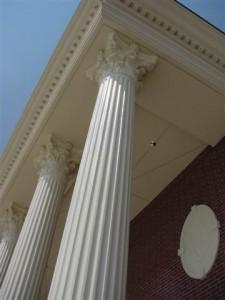 Glass Fiber Reinforced Concrete Roman Corinthian Columns