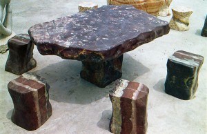 Glass Fiber Reinforced Concrete Table